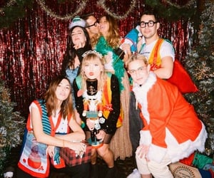 Taylor Swift, celebrities, and christmas image