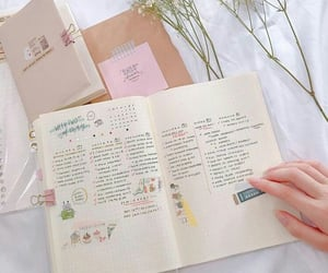 journaling, stationery, and bujo image