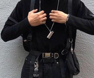 grunge, black, and clothing image