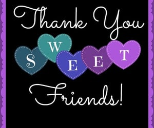 friendship and thank you image