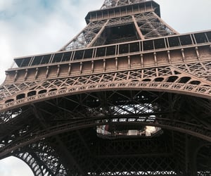 eiffel tower, paris, and city of love image