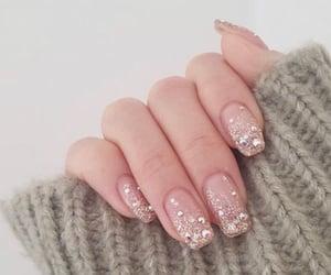 hand, nail art, and nails image