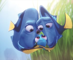 dory, disney, and finding dory image