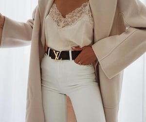 fashion, coat, and Louis Vuitton image