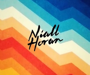 rainbow, 1d, and niallhoran image