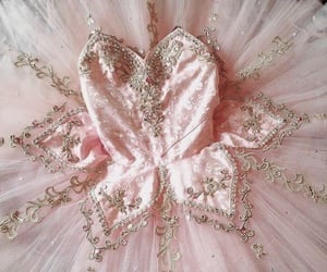 dress, pink, and ballerina image
