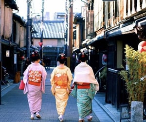 asie, femme, and japon image