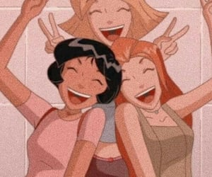 cartoon, totally spies, and friends image