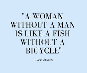 quotes, feminist, and woman image