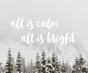 cold, winter, and words image
