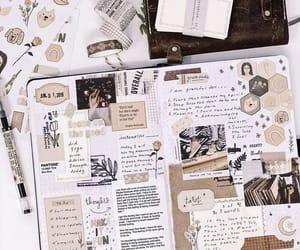 art, bujo, and writing image