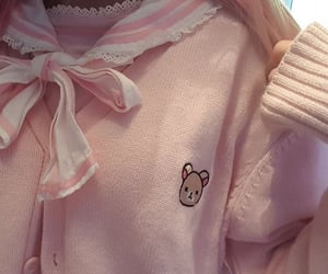 kawaii, pink, and clothes image