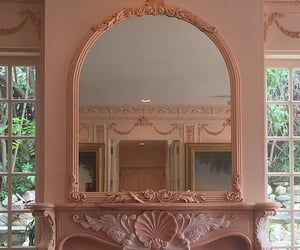 mirror, aesthetic, and pink image