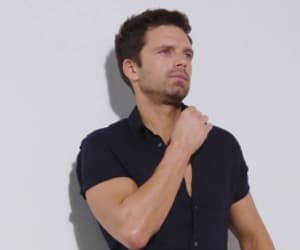 photoshoot, screencaps, and sebastian stan image