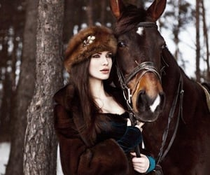 beauty, horse, and friendship image