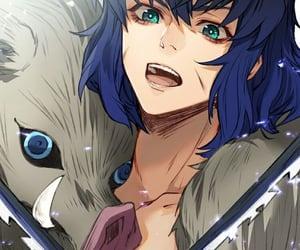anime boy, demon slayer, and kimetsu no yaiba image