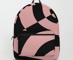 abstract, backpack, and black image