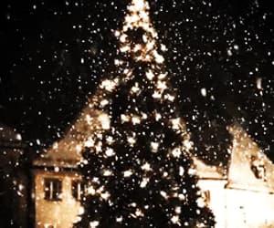 christmas tree, gif, and merry christmas image