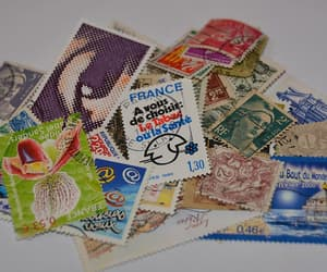collection, france, and stamps image