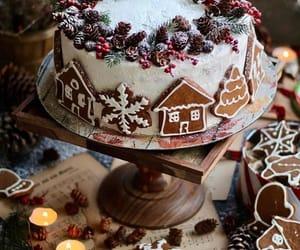 christmas, cake, and Cookies image