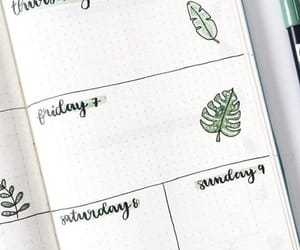 bujo, weekly layout, and bullet journal ideas image