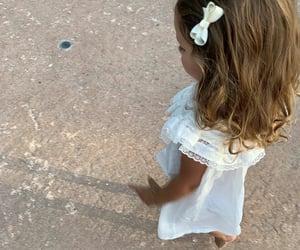 dress, girl girly girls, and family image