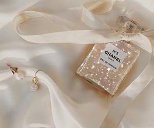 chanel, fragrance, and glitter image