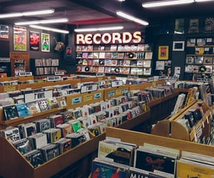 music, aesthetic, and records image