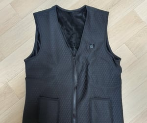 infrared, heating, and waistcoat image