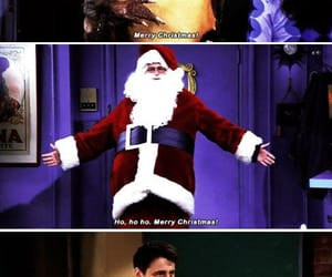 chandler bing, christmas, and David Schwimmer image