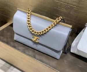 bag, handbag, and blue image