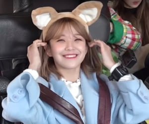 jiheon, fromis_9, and icon image