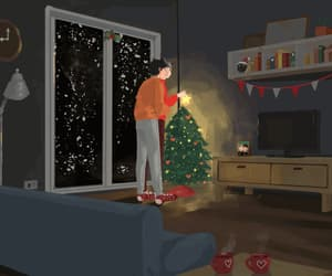 animated, beautiful, and home image