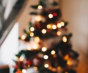 christmas lights, merry christmas, and christmas day image
