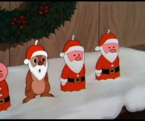 candles, cartoon, and christmas image
