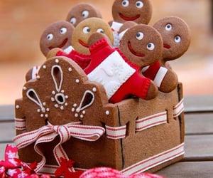 cake, christmas, and gingerbread image