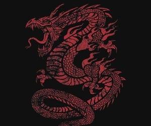 asian, dragon, and wallpaper image