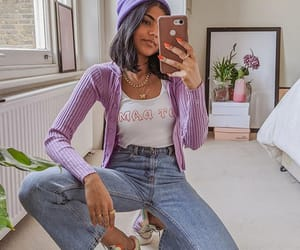 casual, girly, and style image