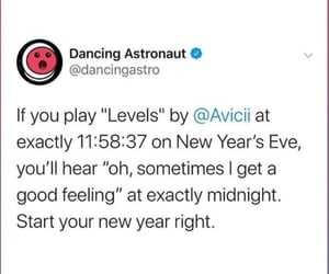 levels, new year, and new years eve image