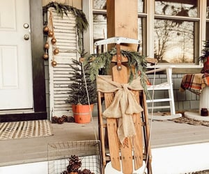 christmas, country living, and farmhouse image