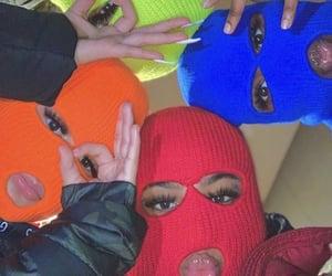 aesthetic, gang, and baddies image