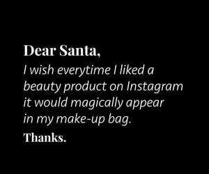 blush, christmas, and dear santa image