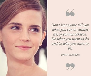 emma watson, quotes, and motivation quotes image