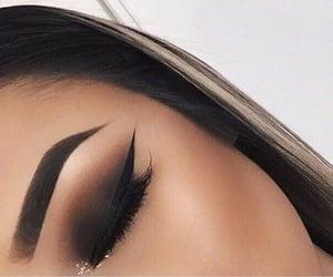 black, elegant, and eye image