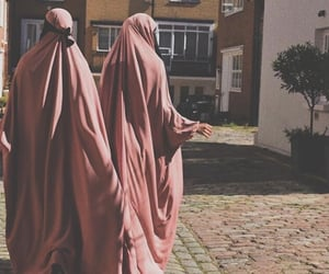 hijab, Iman, and islam image