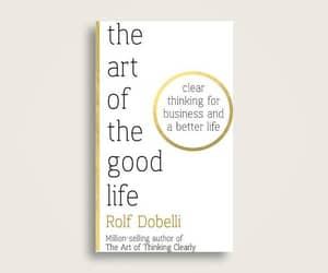 book, good life, and life image