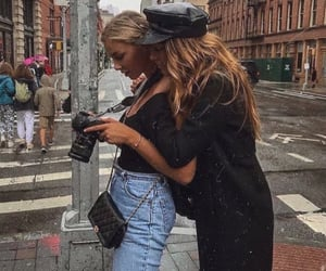 girl, fashion, and best friends image