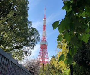 beautiful, green, and tower image