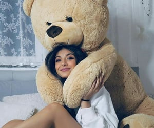 teddy bear and girls style image