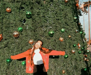 aesthetic, christmas tree, and ugly christmas sweater image